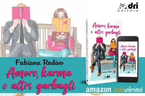 Cover reveal | Amore, karma e altri garbugli di Fabiana Redivo