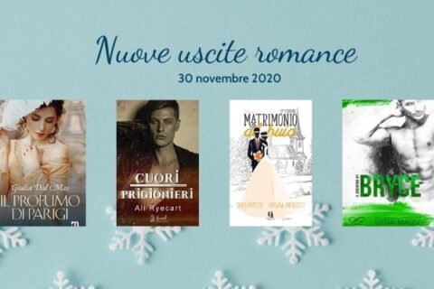 Nuove uscite romance 30 novembre Matrimonio al buio di Fabiana Andreozzi e Sara Pratesi