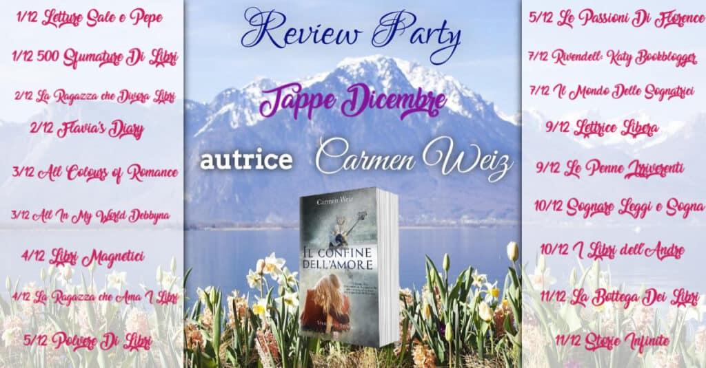 Review Party Il confine dell'amore di Carmen Weiz 5