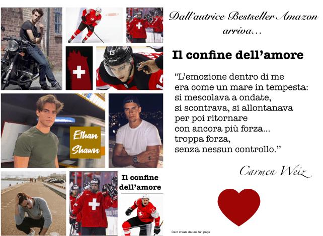 Review Party Il confine dell'amore di Carmen Weiz 2