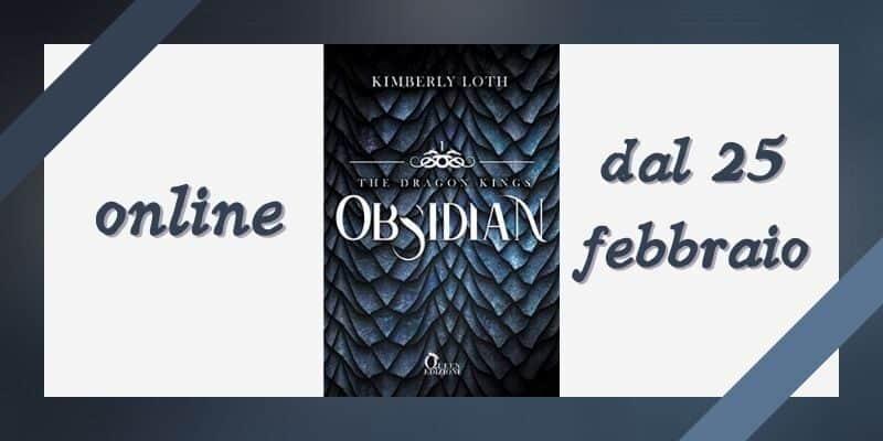 Obsidian di Kimberly Loth Queen Edizioni