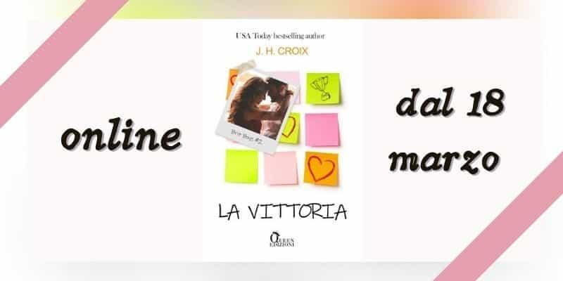 La vittoria di JH Croix Queen Edizioni