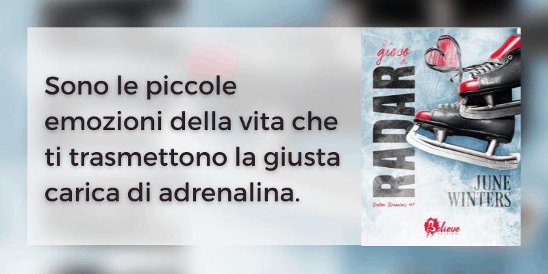 Il gioco di Radar di June Winters Believe Edizioni